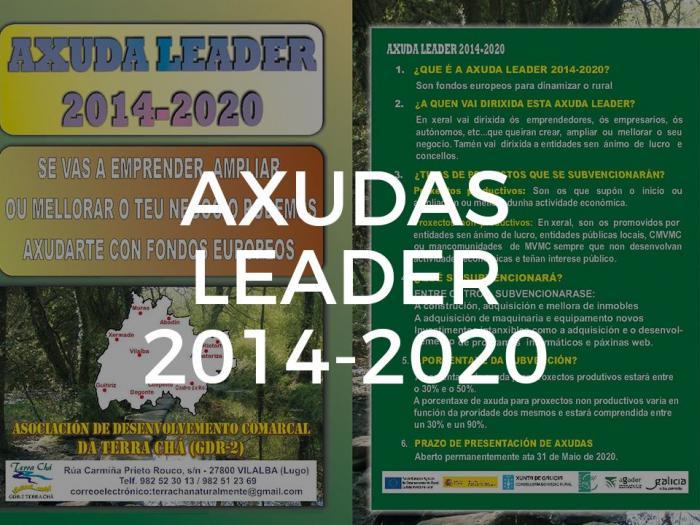 Axudas Leader 2014 - 2020